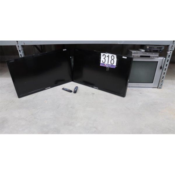 TELEVISIONS, VHS/DVR PLAYERS