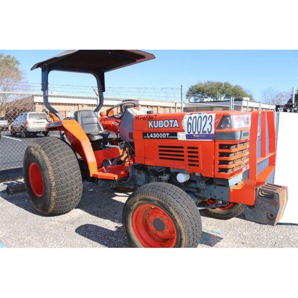 KUBOTA L4300DT Farm Tractor