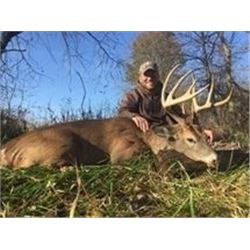 Northeast Missouri Outfitters Pre Rut Archery Whitetail Deer Hunt