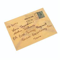 1917 – Prop Soldier Letter - A165
