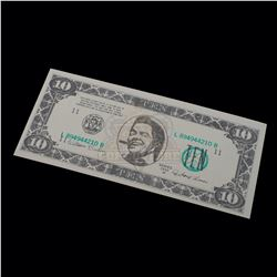 Back to the Future Part II – Biff Co. $10.00 Bill - A170