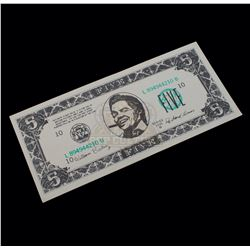 Back to the Future Part II – Biff Co. $5.00 Bill - A221
