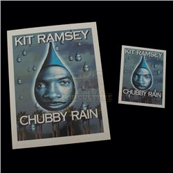"Bowfinger – ""Chubby Rain"" Premiere Ticket & Credits Sheet - A340"