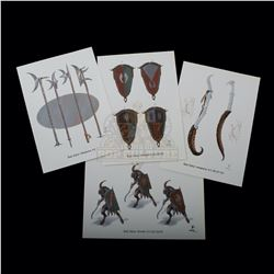 Chronicles of Narnia: The Lion, the Witch and the Wardrobe, The – Weta Workshop Design Prints - A144