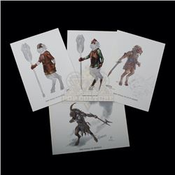 Chronicles of Narnia: The Lion, the Witch and the Wardrobe, The – Weta Workshop Design Prints - A154