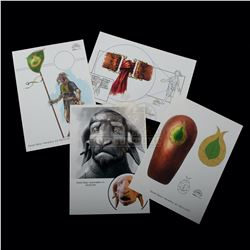 Chronicles of Narnia: The Lion, the Witch and the Wardrobe, The – Weta Workshop Design Prints - A159