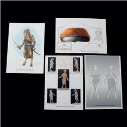 Chronicles of Narnia: The Lion, the Witch and the Wardrobe, The – Weta Workshop Design Prints - A164