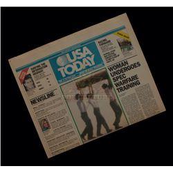 "G.I. Jane – Prop ""USA Today"" Newspaper - A198"