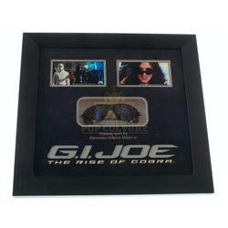 G.I. Joe: The Rise of Cobra - Baroness (Sienna Miller) Glasses w/framed display - A76