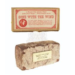 Gone With the Wind - Brick from Loew's Atlanta Premiere Theater - A03