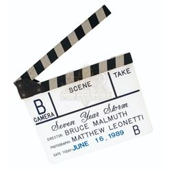 Hard to Kill – Production Used Clapper Board - A206