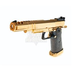"""Heroes (TV) – Sylar's (Zachary Quinto) """"Gold"""" Pistol - A202"""
