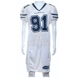 Longest Yard, The – Guard Malloy's (Brandon Molale) Game Jersey - A14