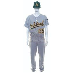 Moneyball – Jeff Tam's Oakland A's Away Uniform - A22