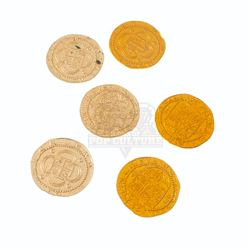 Pirates of the Caribbean: Curse of the Black Pearl - Pirate Coins - A263