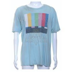 "Pixels - Ludlow (Josh Gad) ""Emergency Broadcast System"" Graphic T-Shirt - A920"