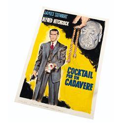 Rope – Movie Poster Layout Original Enzo Nistri Artwork - A188