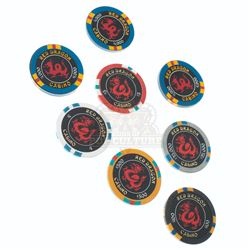 """Rush Hour 2 - """"Red Dragon"""" Casino Chips - A268"""