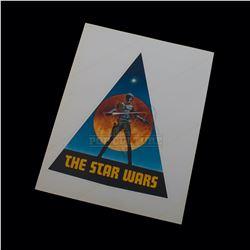 Star Wars: A New Hope - Original Vintage Production Sticker (Large) - A348