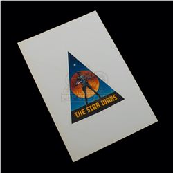 Star Wars: A New Hope – Original Vintage Production Sticker (Small) - A352