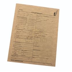 """Starship Troopers – Prop """"Enlisted Classification Record"""" Document - A336"""