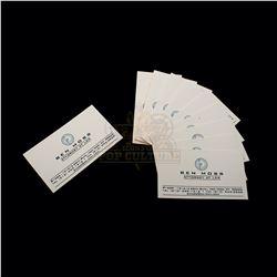 Thir13en Ghosts – Attorney Ben Moss' Business Cards - A313