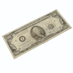 What's the Worst That Could Happen? – prop One-Hundred-Dollar Bill - A155