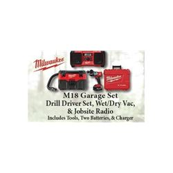 Milwaukee Tool Garage Set