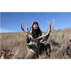 Kansas RESIDENCE ONLY Premier Mule Deer Hunt
