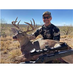 Fully Guided Trophy Coues Deer Hunt in Mexico