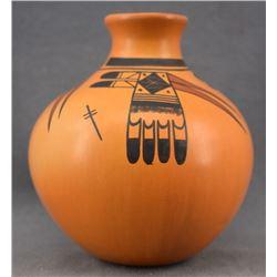 HOPI INDIAN POTTERY JAR ( GLORIA MAHIE)