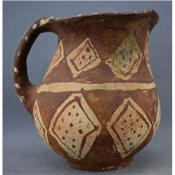MOHAVE INDIAN POTTERY PITCHER (ELMER GATES)