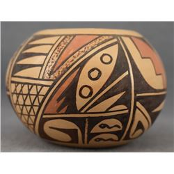 HOPI INDIAN POTTERY BOWL (HATTIE SILAS)