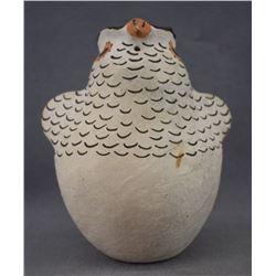 ACOMA INDIAN POTTERY OWL