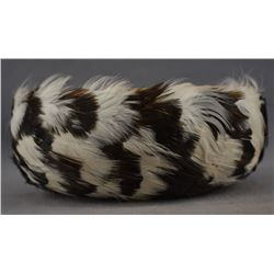 POMO INDIAN FEATHER BASKET ( ROSE ANDERSON)