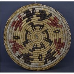 NAVAJO INDIAN BASKETRY BOWL (NELLIE BLACK)