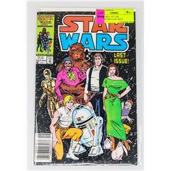 STAR WARS # 107 LOW DISTRIBUTION LAST ISSUE