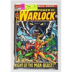 WARLOCK # 1 ORIGIN BY KANE 1ST INFINITY STONE