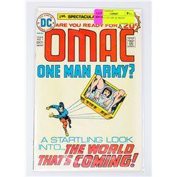 OMAC # 1 1ST APPEARANCE & ORIGIN