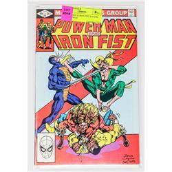 POWER MAN & IRON FIST # 84 4TH SABERTOOTH