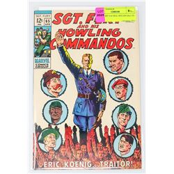 SGT. FURY # 65 HEIL HITLER SALUTE COVER