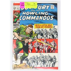 SGT. FURY # 67 LAST 12 CENT ISSUE