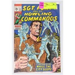 SGT. FURY # 69
