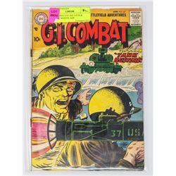 G.I. COMBAT # 47 JOE LOUIS & MICKEY MANTEL ADS
