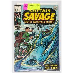 CAPT. SAVAGE # 11