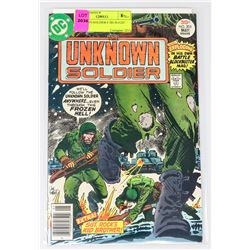 UNKNOWN SOLDIER # 205 IS #1ST ISSUE