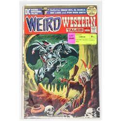 WEIRD WESTERN TALES # 12 ONLY THE 3RD HEX