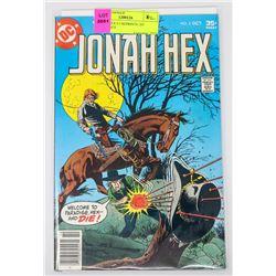 JONAH HEX # 5 REPRINTS 1ST APPERANCE