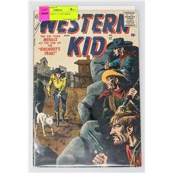 WESTERN KID # 17 LAST ISSUE