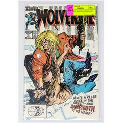 WOLVERINE # 10 1ST SABERTOOTH FIGHT